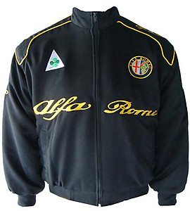 Alfa Romeo Jacket Black