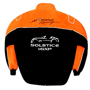 Pontiac Solstice GXP Racing Jacket Black and Orange
