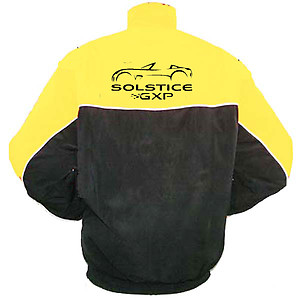 Pontiac Solstice Racing Jacket Yellow and Black