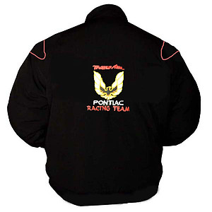Pontiac Trans Am Racing Jacket Black