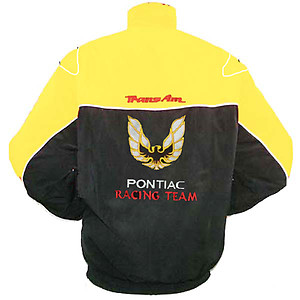 Pontiac Trans Am Racing Jacket Yellow and Black