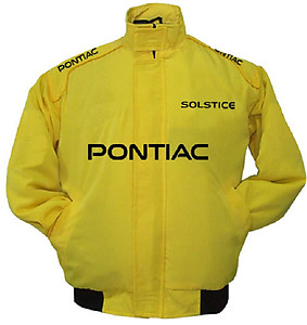Pontiac Solstice Racing Jacket Yellow