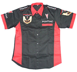Pontiac Trans Am Crew Shirt Black