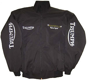 Triumph Bonneville Motorcycle Jacket Black