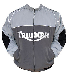 Triumph Motorcycle Jacket Gray