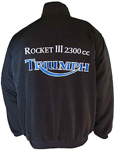 Triumph Rocket III 2300cc Motorcycle Jacket Black