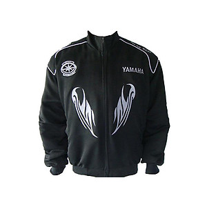 Yamaha DragStar Motorcycle Jacket Black