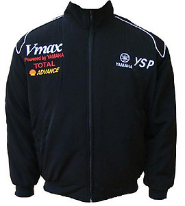 Yamaha VMAX YSP Motorcycle Jacket Black