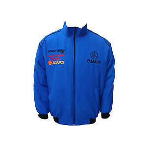 Yamaha YZF R1 Motorcycle Jacket Royal Blue