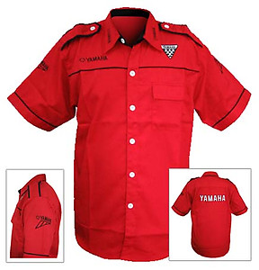 Yamaha Crew Shirt Red