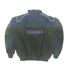 Yamaha Motorcycle Jacket Dark Blue and Black