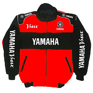 Yamaha VMAX Motorcycle Jacket Red and Black