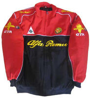 Race Car Jackets Alfa Romeo Jacket Red Black