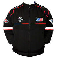 Race Car Jackets Bmw M Sport Racing Jacket Black And White