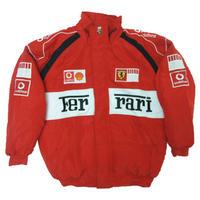 Ferrari Vodafone Racing Jacket Red \u0026 White