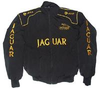 a2050460c57449 Race Car Jackets. Jaguar Lear Black Racing Jacket